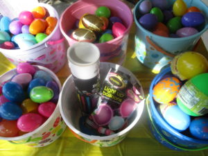 Baskets of Easter glow Party Fun