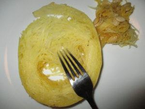 spaghetti squash for Asian Spaghetti Squash with Shrimp