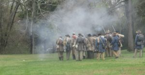 Battle of Shiloh reenactment