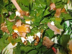 spinach salad for 12 veggies