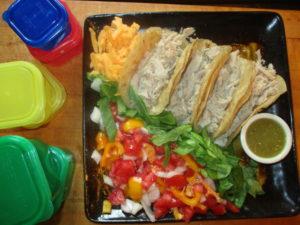 meal plan tacos