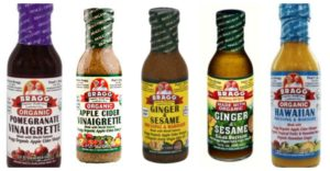 store-bought salad dressings
