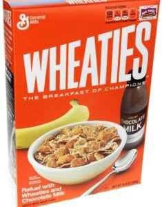 Wheaties cereal for finding approved cereals list