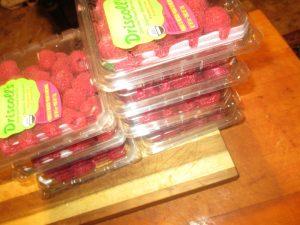 raspberries for Smokey Raspberry Chipotle BBQ Sauce