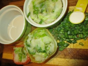 traditional Irish colcannon to be served
