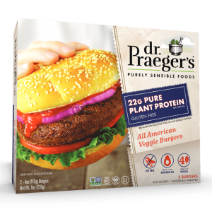 Dr. Praeger's veggie burgers and the 21 Day Fix
