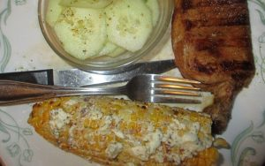 garlic parm corn