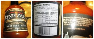 BBQ sauce for condiments on the 21 Day Fix