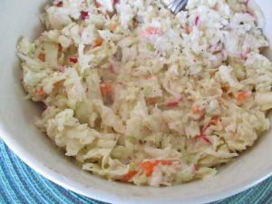 Mayo coleslaw