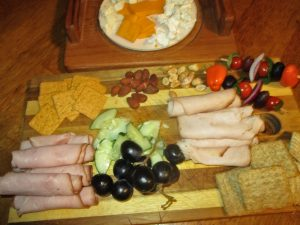 healthy snack tray