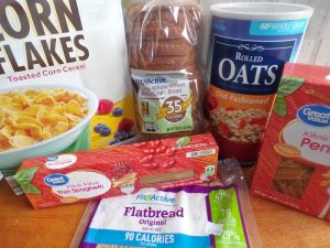 Budget meals ingredients