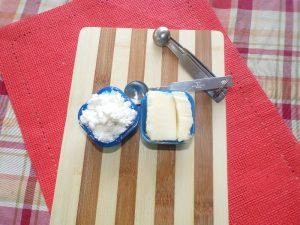 feta and mozzarella cheese for Mediterranean antipasto platter
