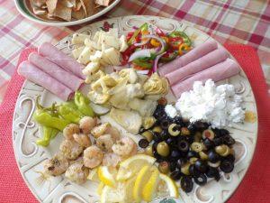 greek antipasto platter
