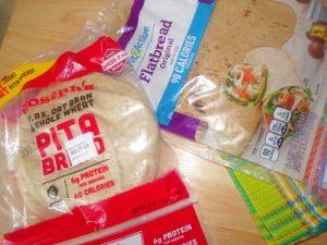 pita bread for chicken bacon ranch pizza