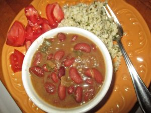budget meals red beans and rice