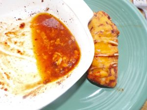 barbeque cheddar hasselback chicken