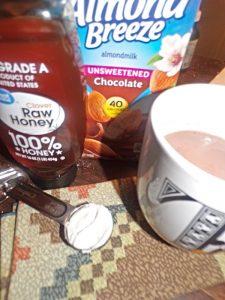 almond milk hot chocolate