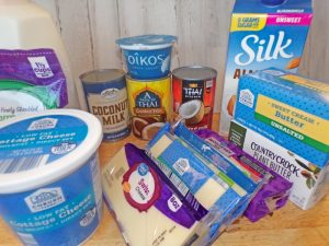 Dairy and non-dairy products