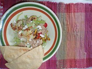 Chicken with Hummus Power Bowl