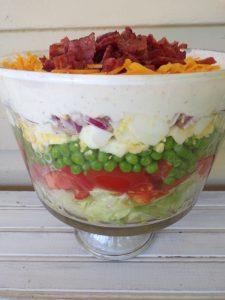 Classic 7 Layer Salad