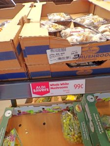 mushrooms for 99 cents