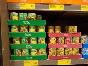 what to buy at Aldi- canned goods