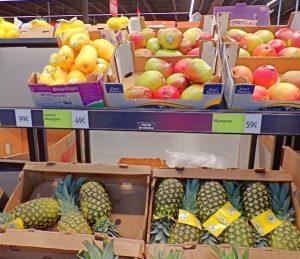 Honey mango and regular mango what to buy at Aldi
