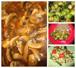 Highest protein veggies from food list