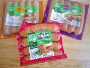 various chicken sausage variety