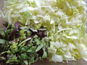 lettuce for Copycat Ruths Chris Chopped Salad