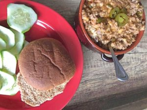 Cheese for Jalapeno Popper Sloppy Joes
