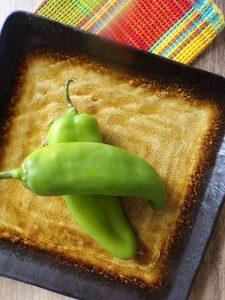 Anaheim pepper for chile relleno casserole