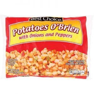 Best Choice Potatoes O'Brien